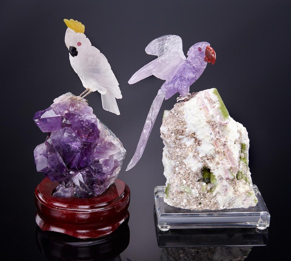 Резьба по минералам