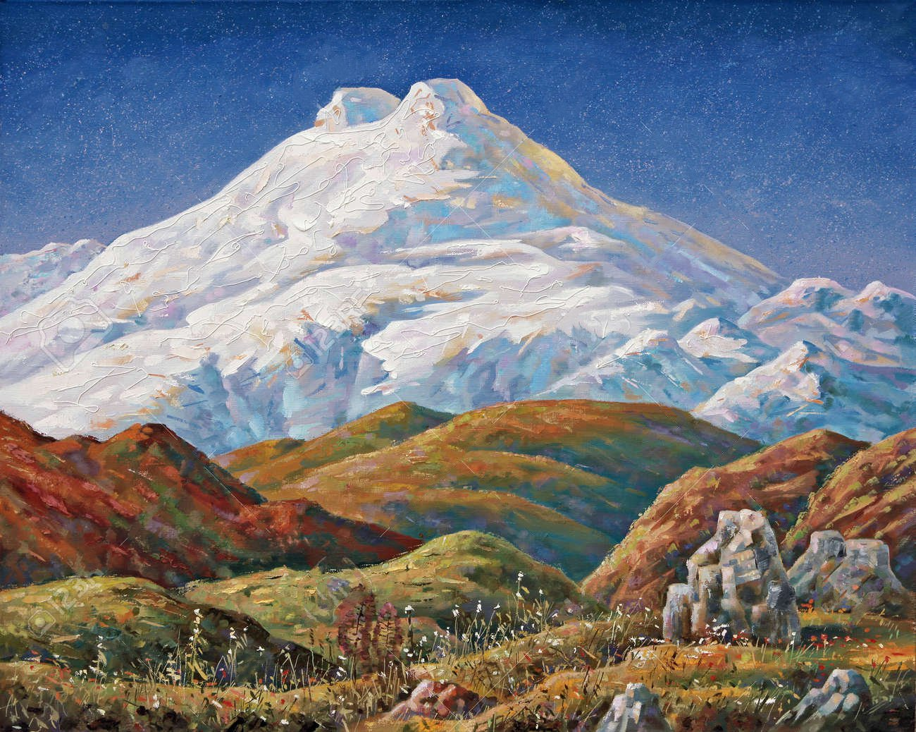 103318507-snow-top-of-mount-elbrus-in-autumn-an-oil-painting-on-canvas.jpg