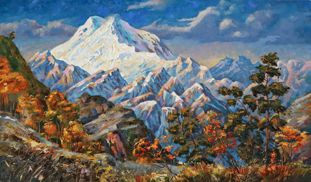 104954968-on-a-picturesque-canvas-depicts-a-string-of-caucasian-mountains-in-the-early-morning-resting-in-the.jpg