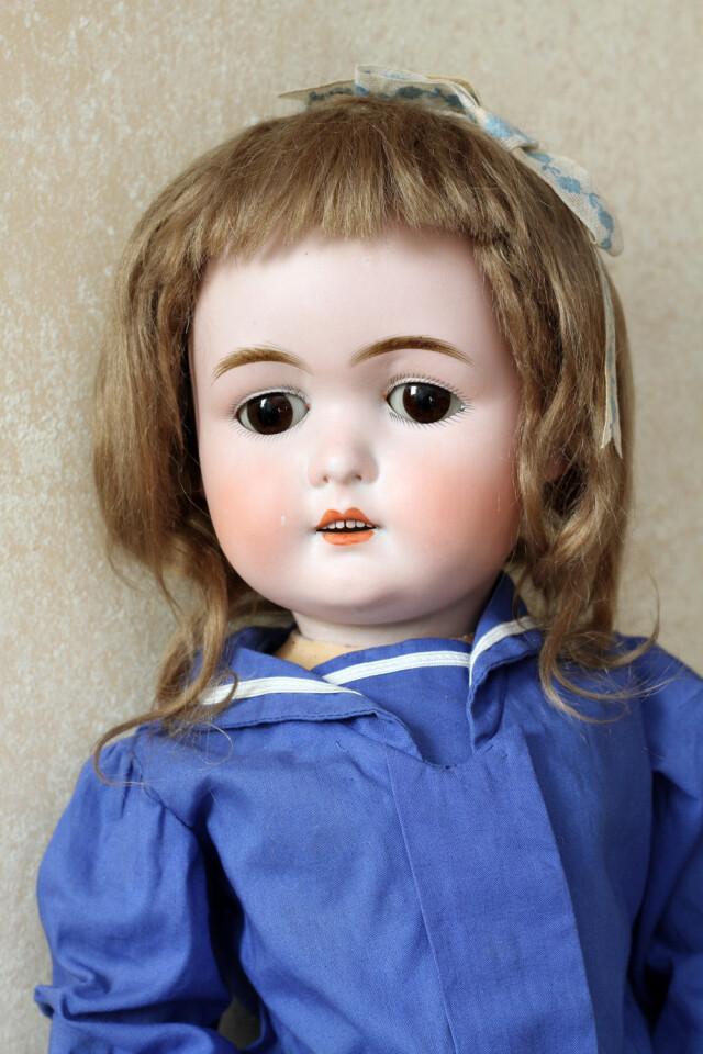 Редкая американская антикварная кукла