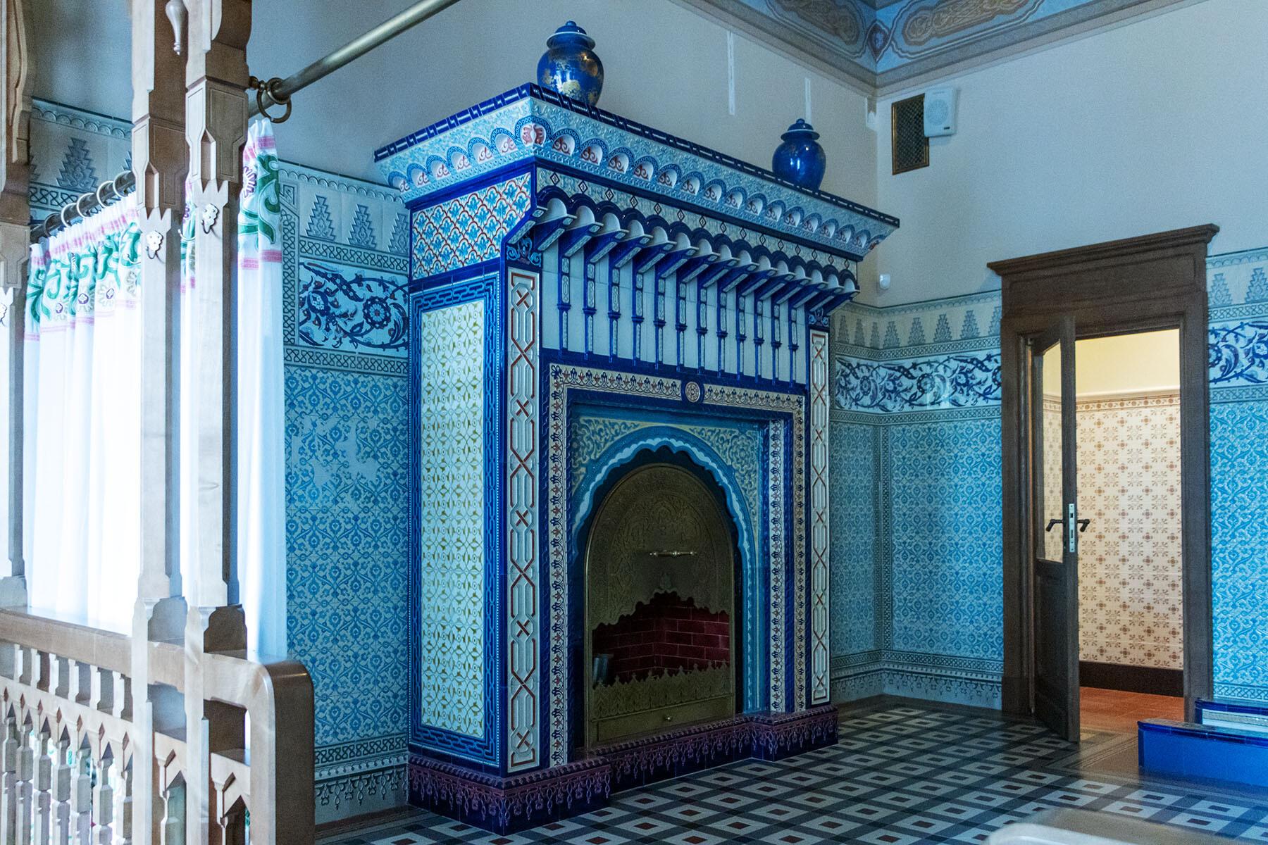 Мавританская уборная (Бассейная) Николая II в Александровском дворце IMG_0462.jpg