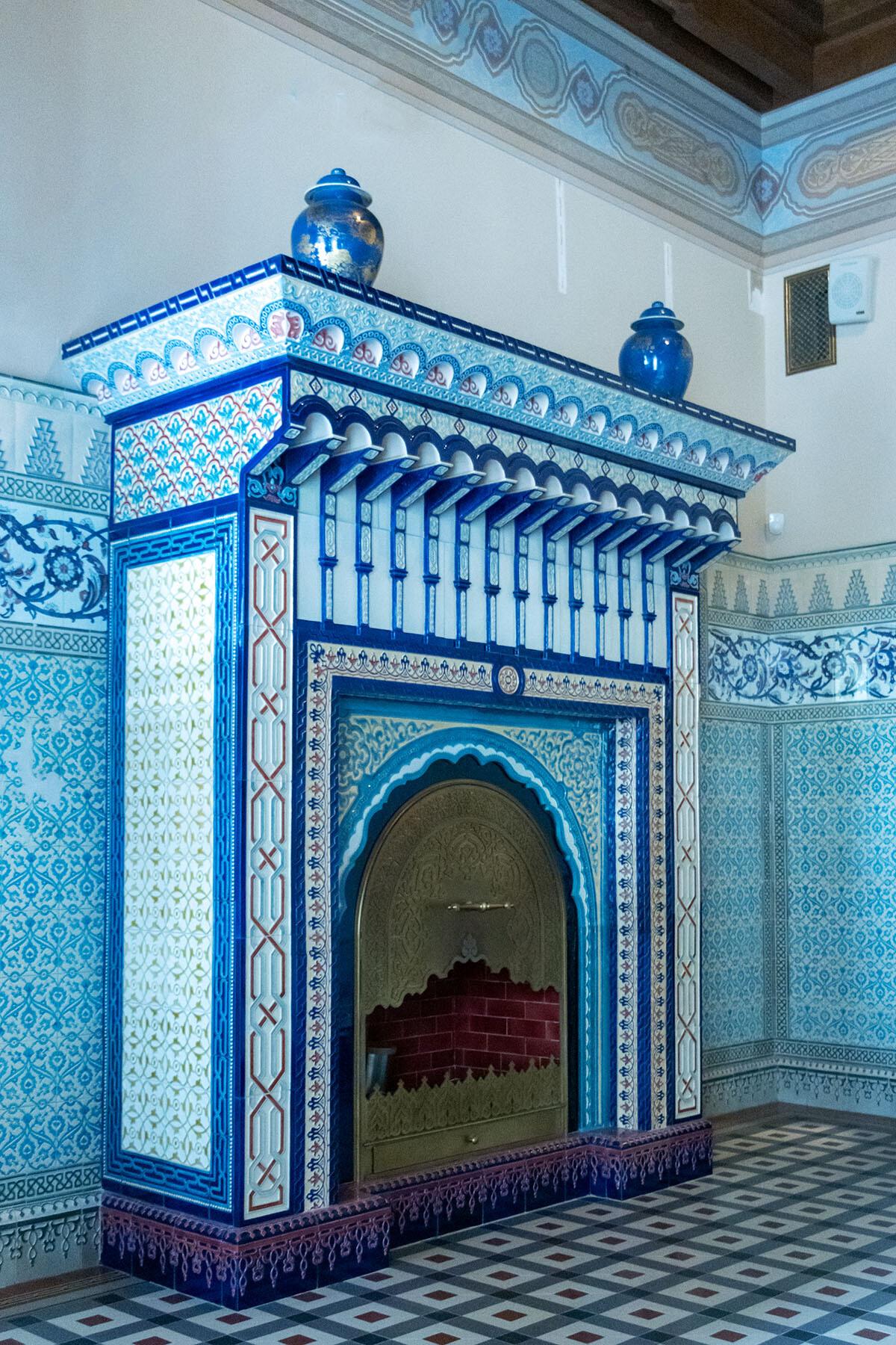 Мавританская уборная (Бассейная) Николая II в Александровском дворце IMG_0463.jpg