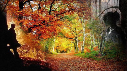 Грустно Осени стало одной